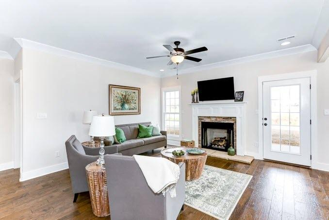Living Area featured in the Whitney 2 By StoneridgeHomes in Huntsville, AL