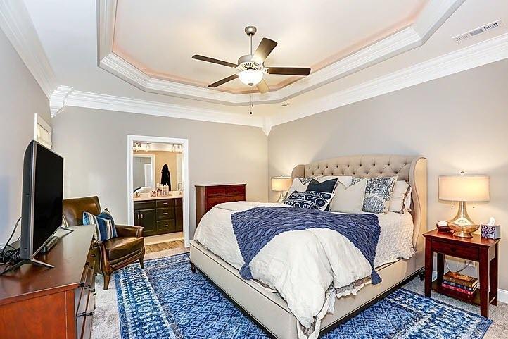 Bedroom featured in The Townhomes By StoneridgeHomes in Huntsville, AL