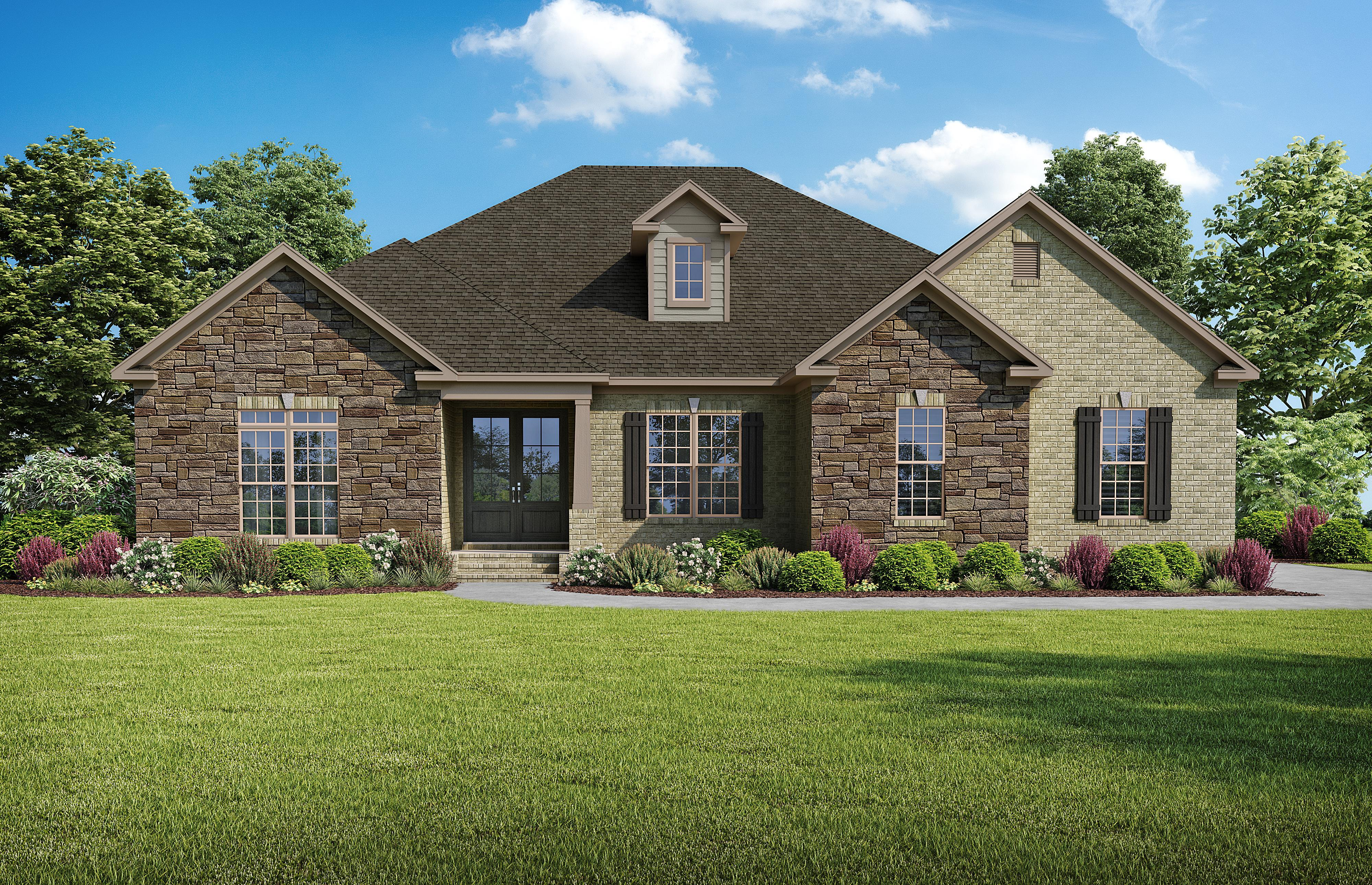 Exterior featured in the Oakleigh By StoneridgeHomes in Huntsville, AL