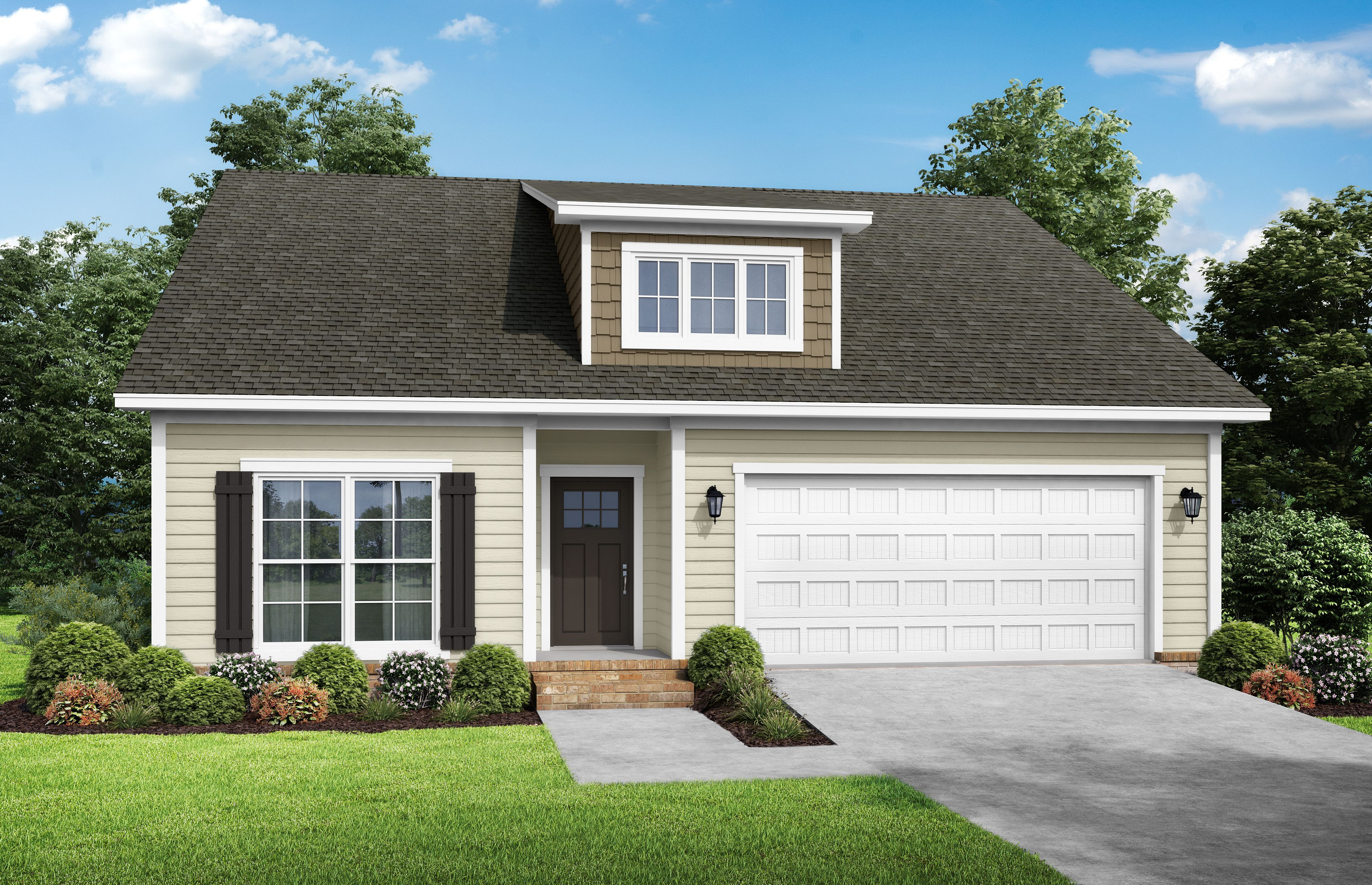 Exterior featured in The Anna 2 By StoneridgeHomes in Huntsville, AL