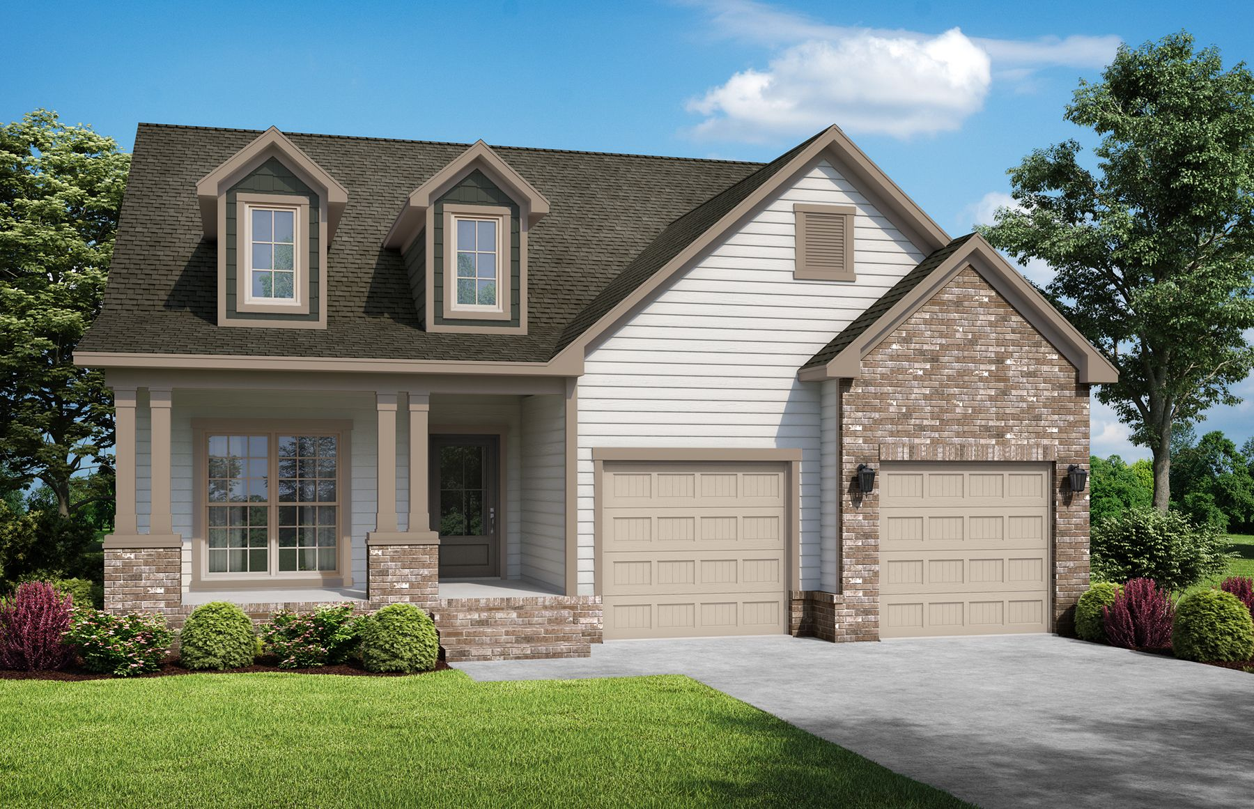 Exterior featured in The Jenna 2 By StoneridgeHomes in Huntsville, AL