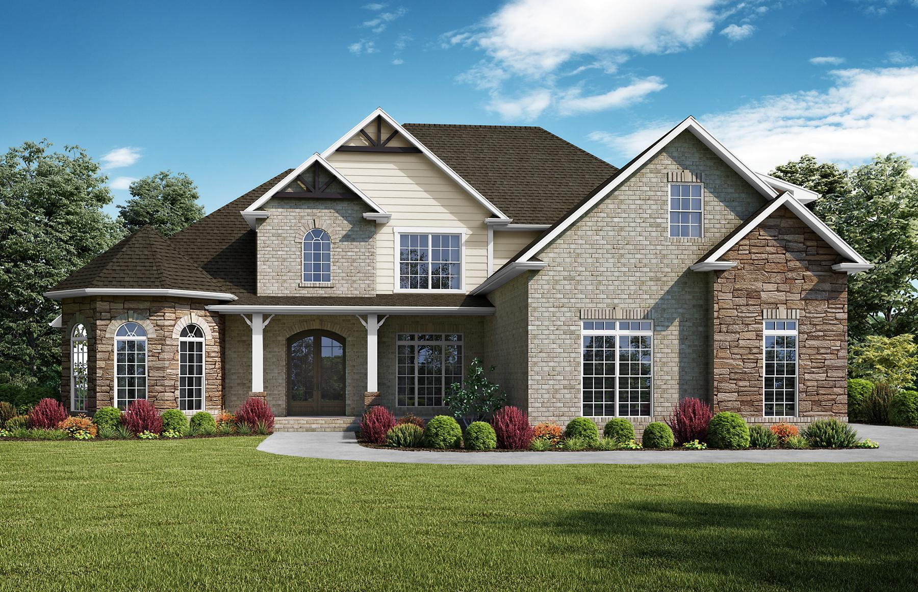 Exterior featured in The Kimberly By StoneridgeHomes in Huntsville, AL
