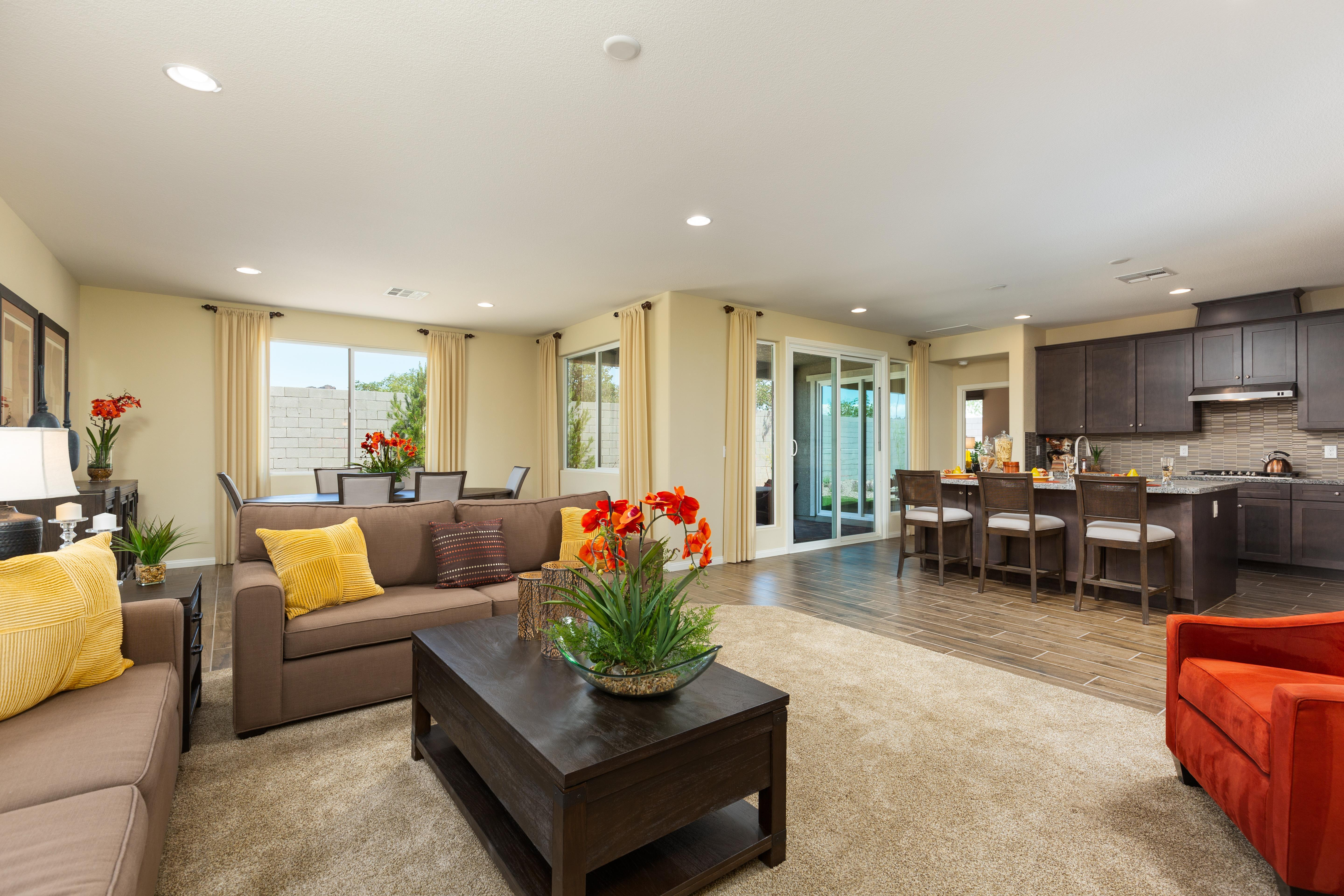 Living Area featured in the Plan 2 By Storybook Homes in Las Vegas, NV