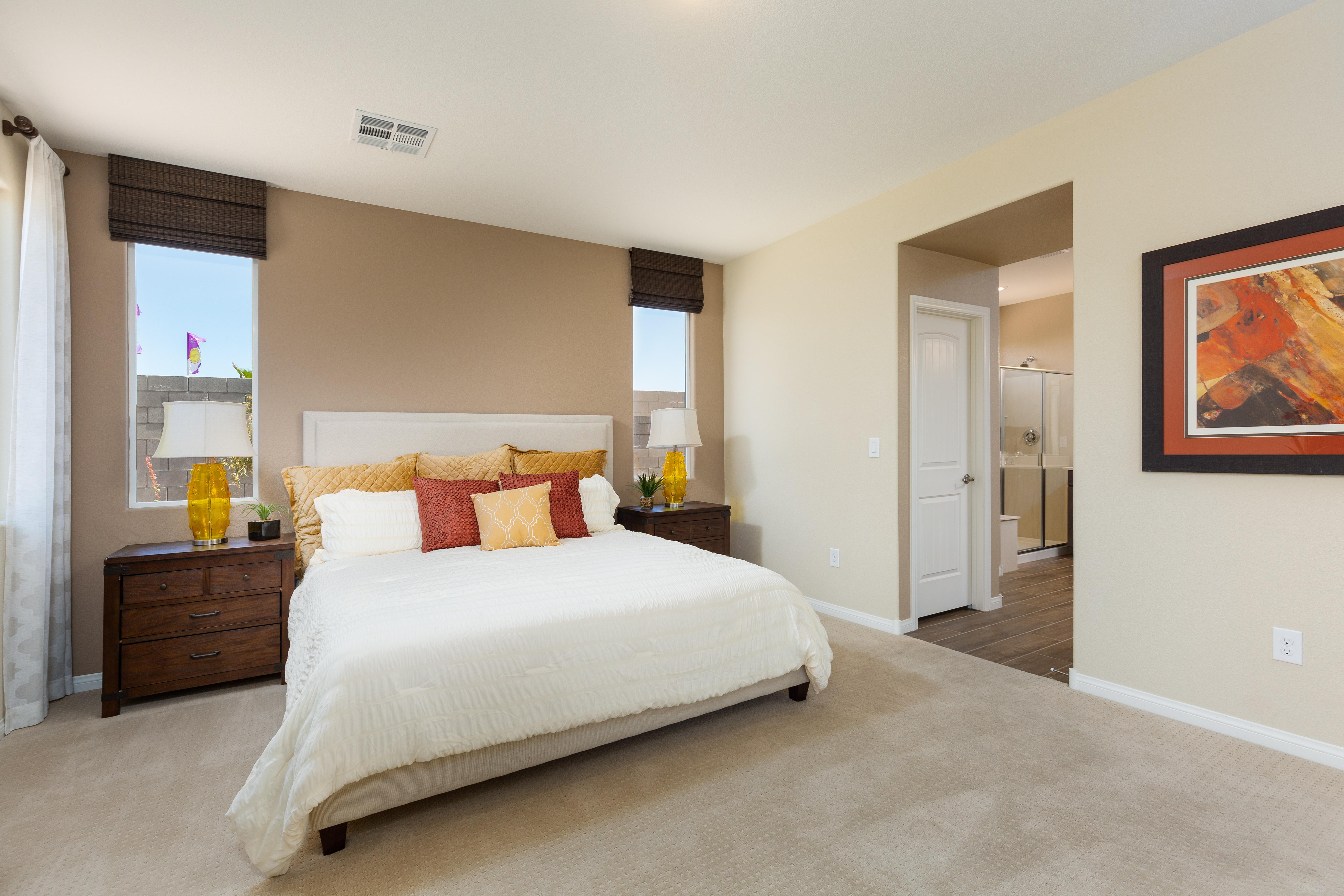 Bedroom featured in the Plan 2 By Storybook Homes in Las Vegas, NV