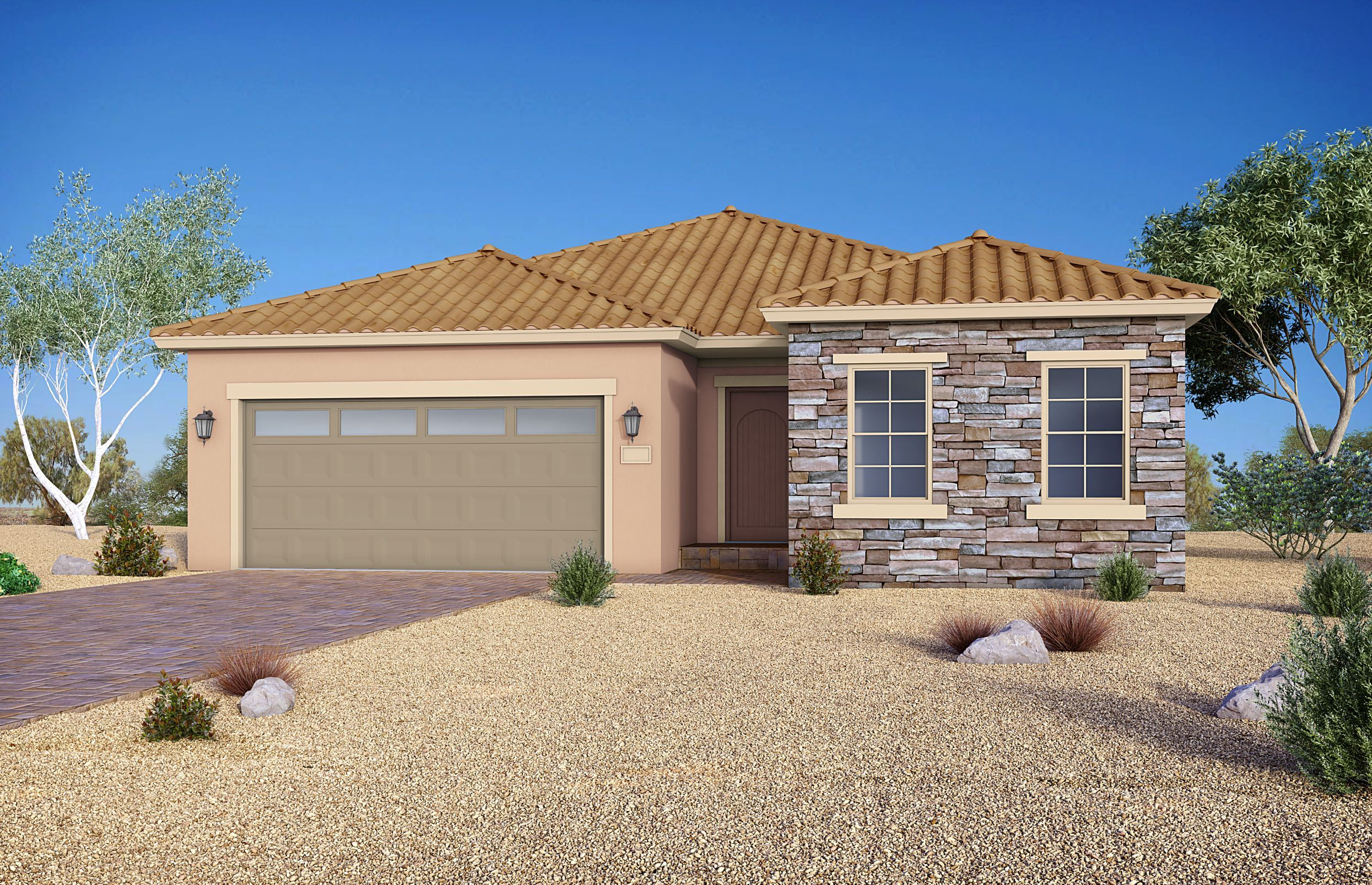 Exterior featured in The Tempo By Storybook Homes in Las Vegas, NV