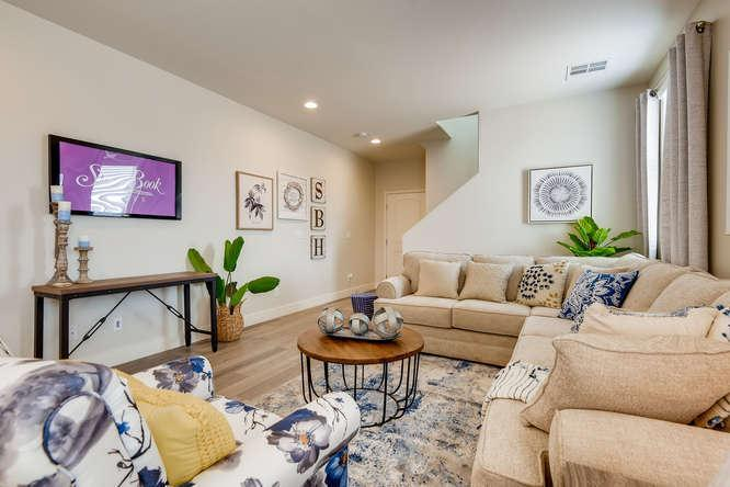 Living Area featured in The Yorkshire By Storybook Homes in Las Vegas, NV