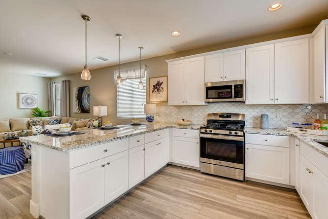 Kitchen featured in The Yorkshire By Storybook Homes in Las Vegas, NV