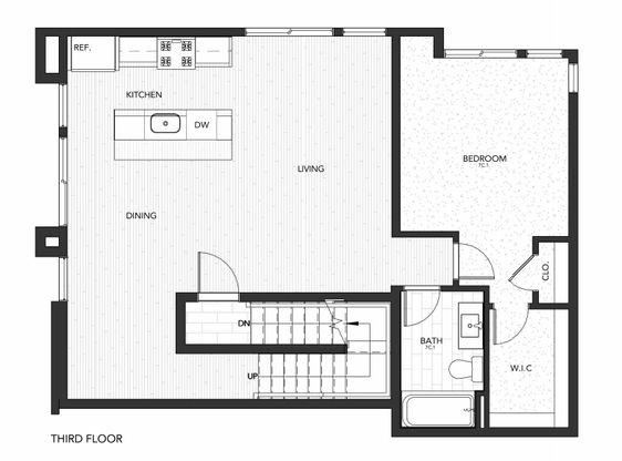Building 7 Unit C:Third Floor
