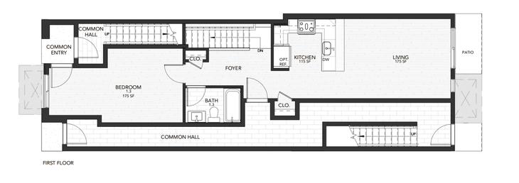 Plan 1:First Floor