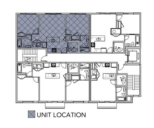 5A courtyard:Unit Location