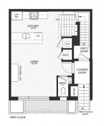 1121 Unit A:First Floor