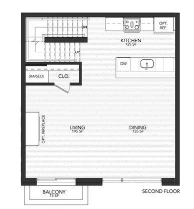 1106 B:Second Floor
