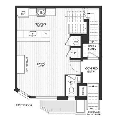 1104 A:First Floor