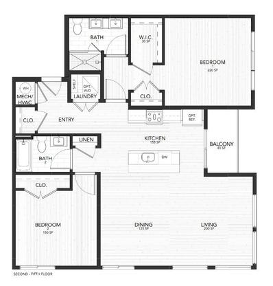 4F Avenue:Floor Plan