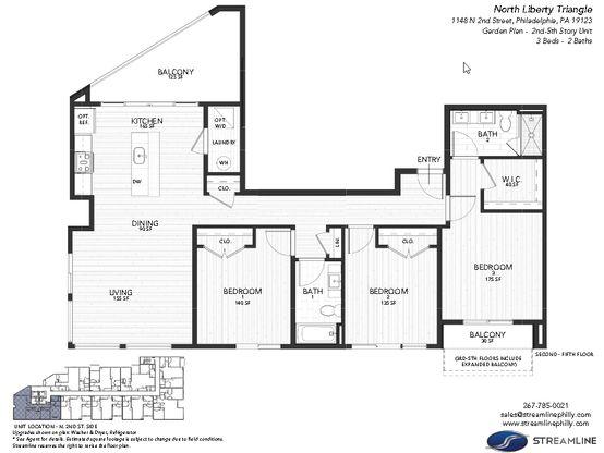 4A - Garden:Floor plan