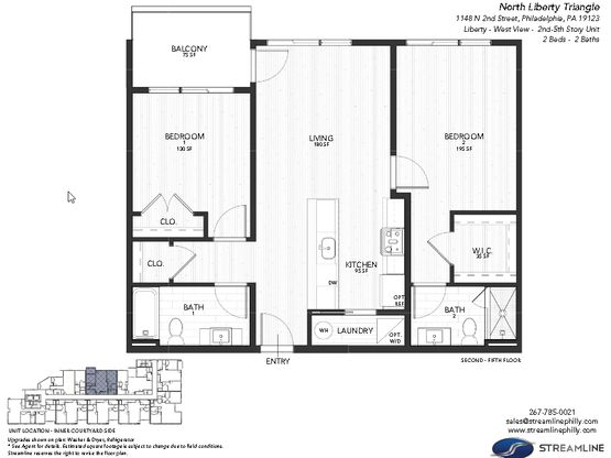 3C - Liberty - West:Floor plan