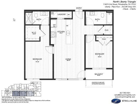 3G - Liberty - Plaza:Floor plan