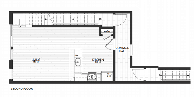 1437 Germantown Ave Unit 3 (Plan 3)