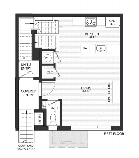 1110 N 2nd Street Unit A (1110 Unit A)