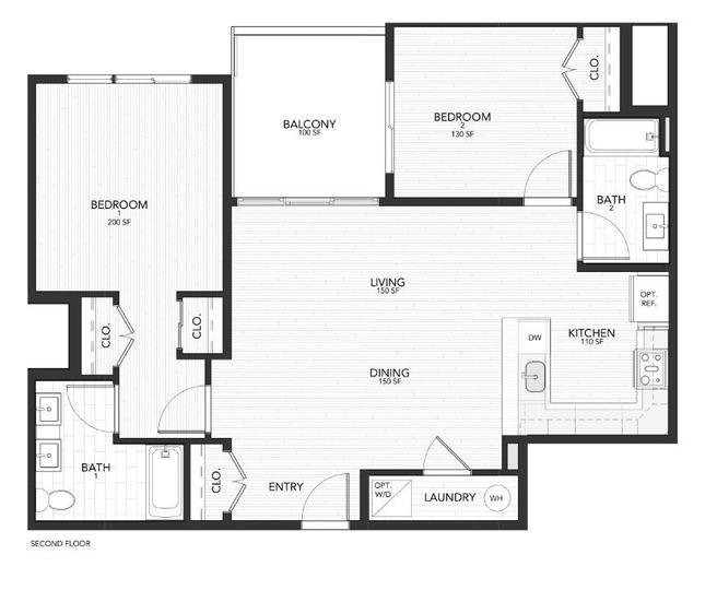 1148 N 2nd Street Unit 2D (2D)