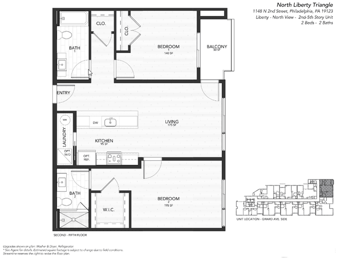 1148 N 2nd Street Unit 3E (3E)