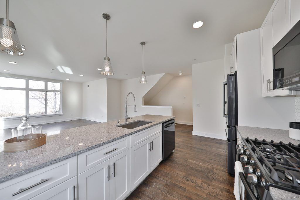 Kitchen featured in the 506, 510, 514, 518 unit 4 By Streamline  in Philadelphia, PA