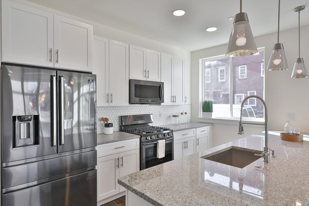 Kitchen featured in the 504, 508, 512, 516 unit 4 By Streamline  in Philadelphia, PA