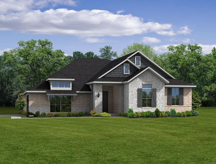 Exterior:StyleCraft Builders - Elevation Set #4 - STD - 24 2706 A
