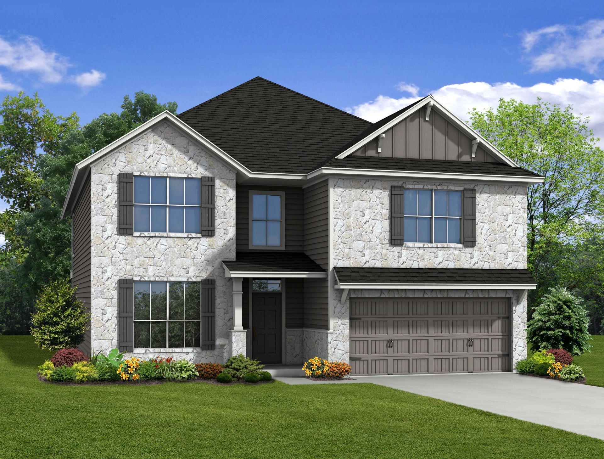 3232 plan killeen texas 76542 3232 plan at yowell for New construction ranch style homes in illinois