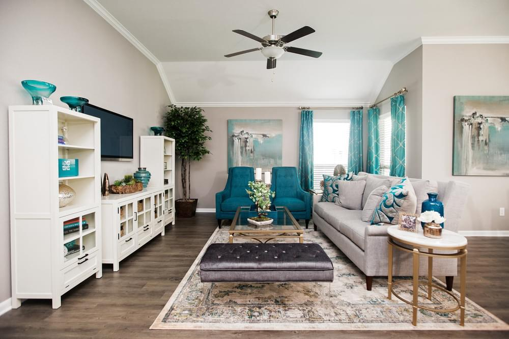 Living Area featured in the 1514 By Stylecraft Builders in Bryan-College Station, TX