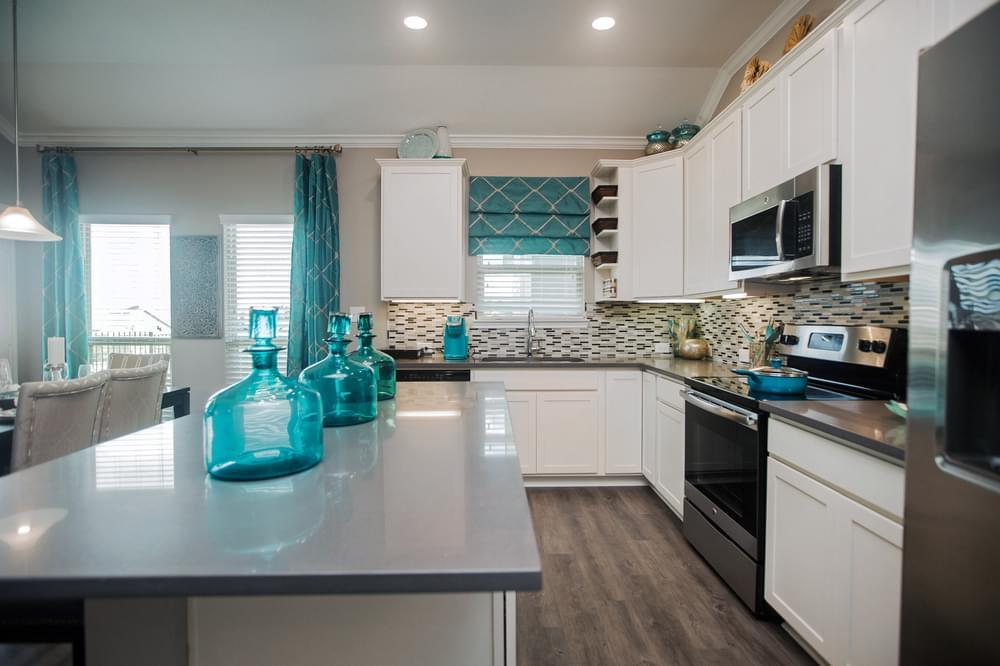 Kitchen featured in the 1514 By Stylecraft Builders in Killeen, TX