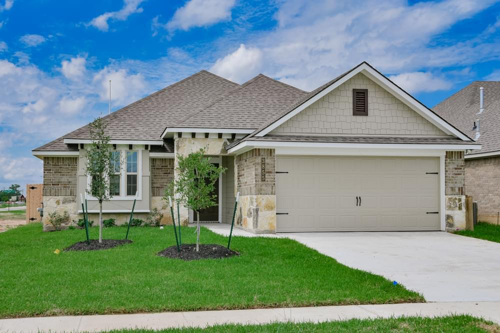 Exterior featured in the 1613 By Stylecraft Builders in Waco, TX