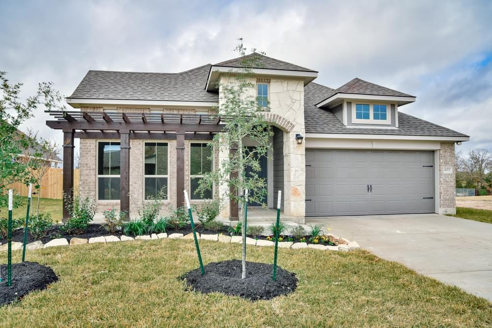 Exterior featured in the 1818 By Stylecraft Builders in Waco, TX