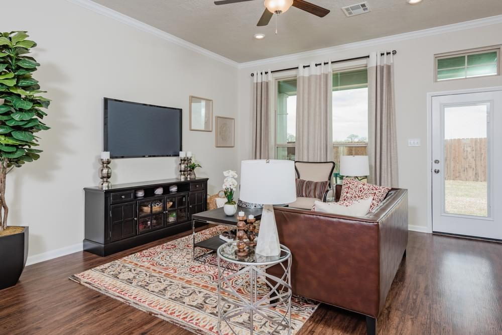 Living Area featured in the 2082 By Stylecraft Builders in Killeen, TX