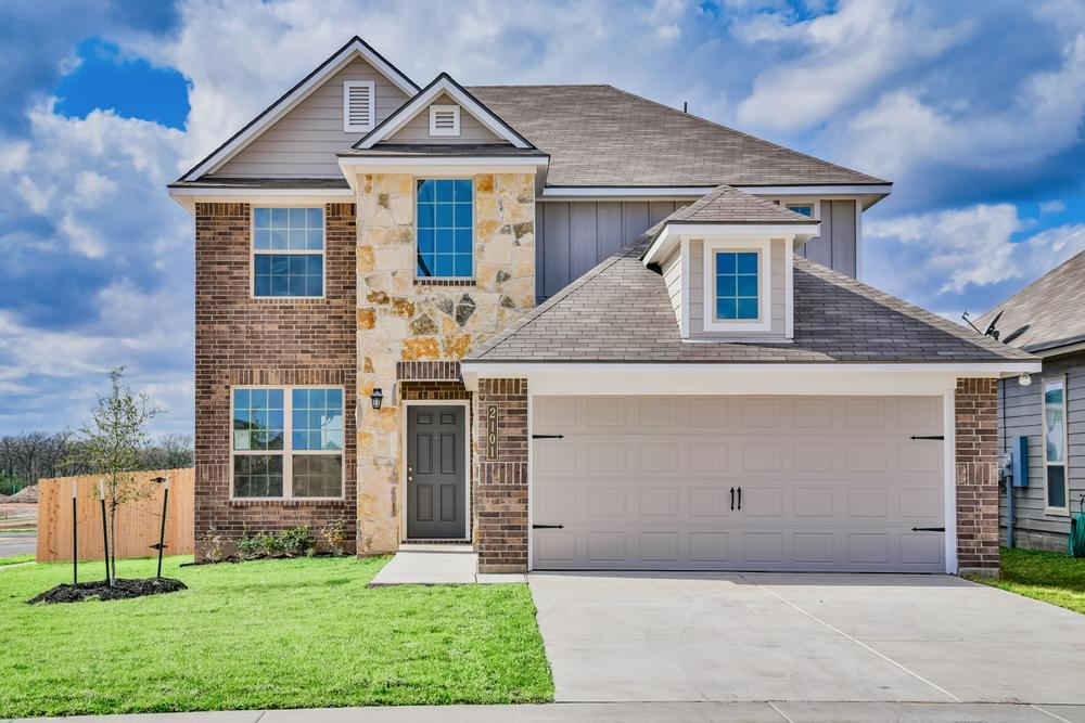 Exterior featured in the 2516 By Stylecraft Builders in Bryan-College Station, TX