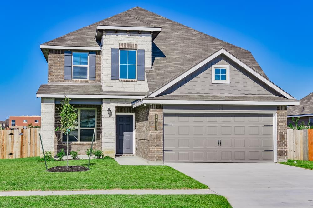 Exterior featured in the 2516 By Stylecraft Builders in Waco, TX