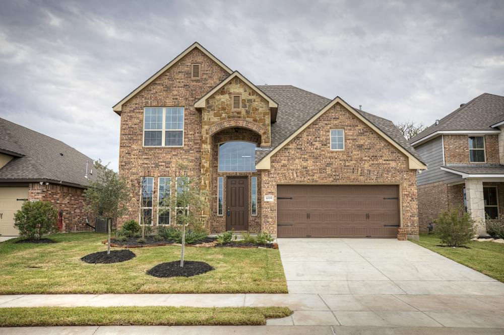 Exterior featured in the 2588 By Stylecraft Builders in Bryan-College Station, TX
