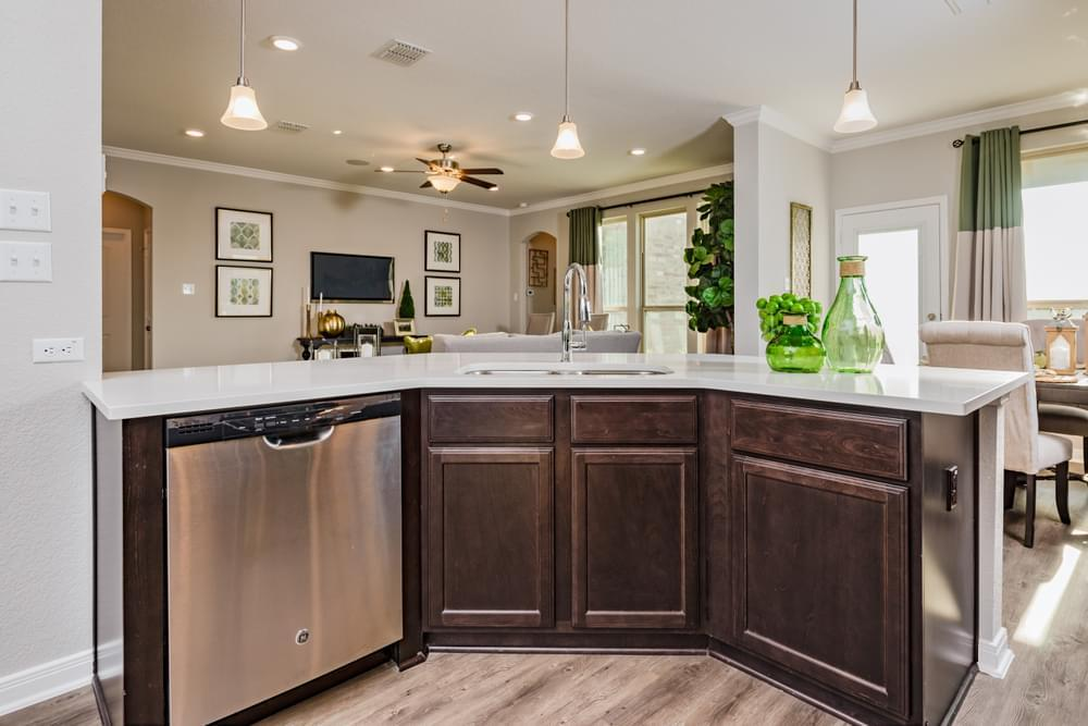 Kitchen featured in the 2588 By Stylecraft Builders in Killeen, TX