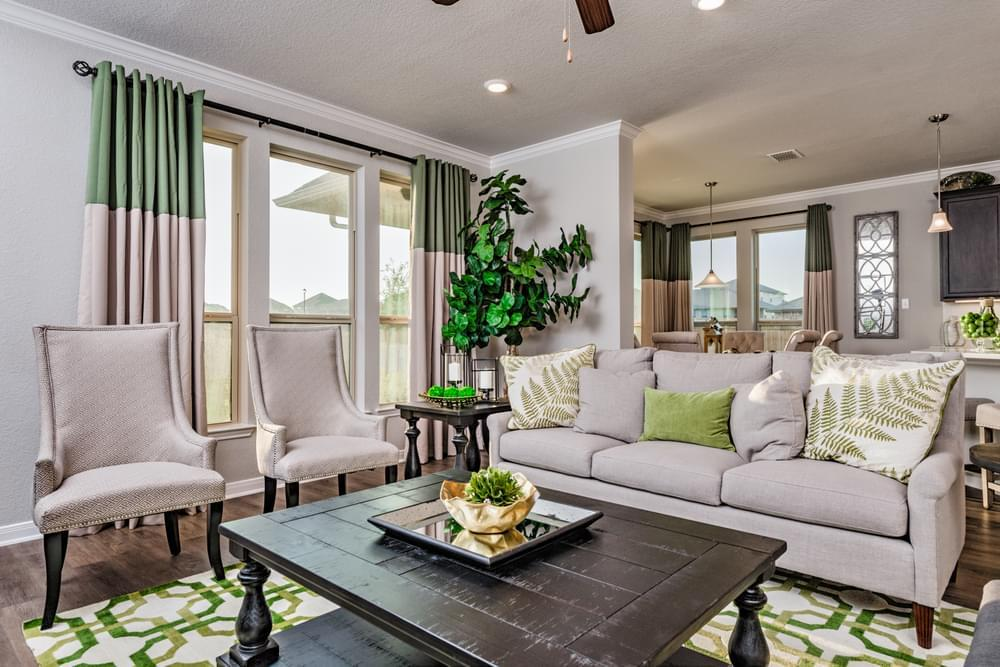 Living Area featured in the 2588 By Stylecraft Builders in Waco, TX
