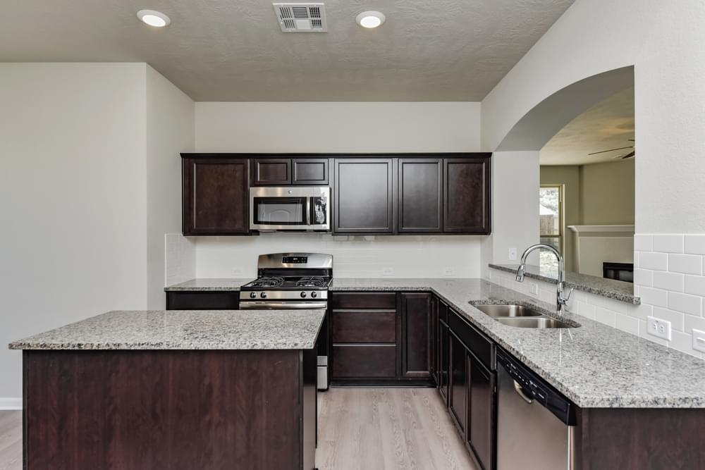 Kitchen featured in the 2697 By Stylecraft Builders in Killeen, TX