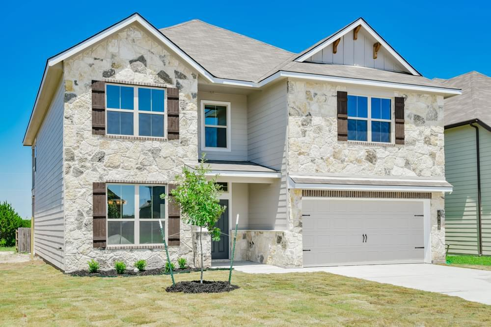 Exterior featured in the 3232 By Stylecraft Builders in Waco, TX