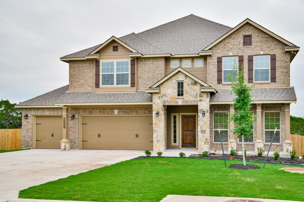Exterior featured in the 3268 By Stylecraft Builders in Waco, TX