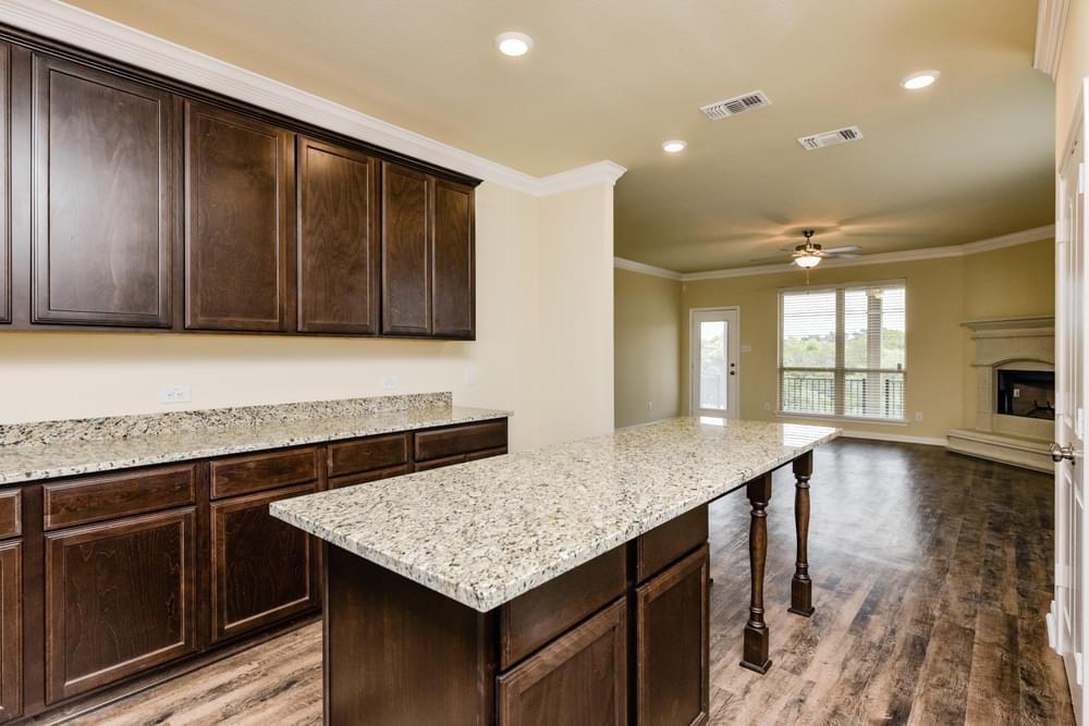 Kitchen featured in the 3268 By Stylecraft Builders in Killeen, TX