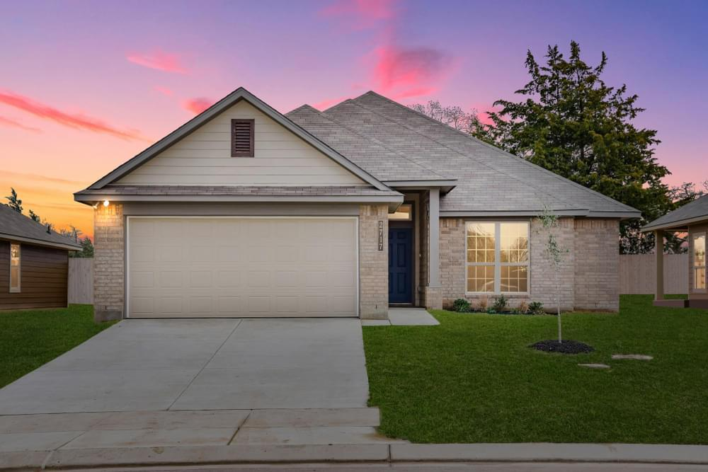 Exterior featured in the S-1593 By Stylecraft Builders in Waco, TX
