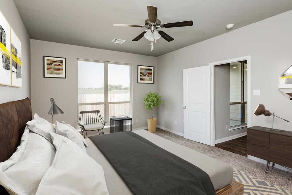 Bedroom featured in the Dexter II By Stylecraft Builders in Bryan-College Station, TX