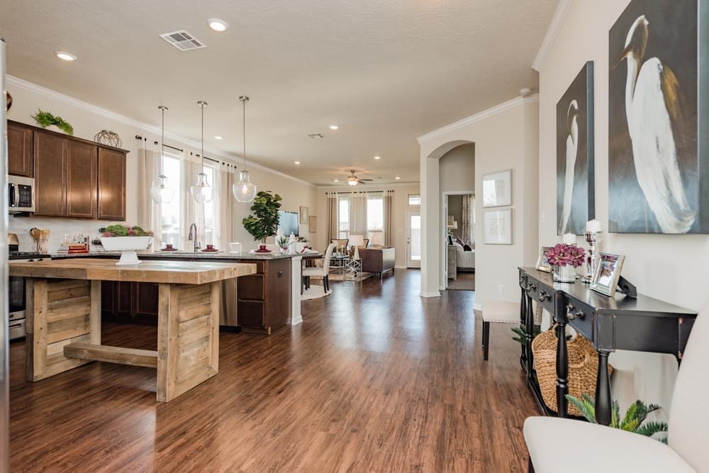 Kitchen featured in the Geary I By Stylecraft Builders in Bryan-College Station, TX