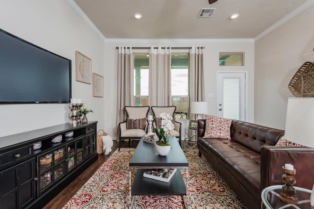 Living Area featured in the Geary I By Stylecraft Builders in Bryan-College Station, TX