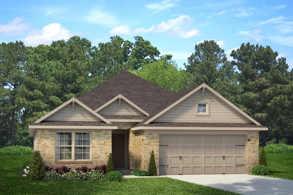Exterior featured in the Irwin By Stylecraft Builders in Bryan-College Station, TX