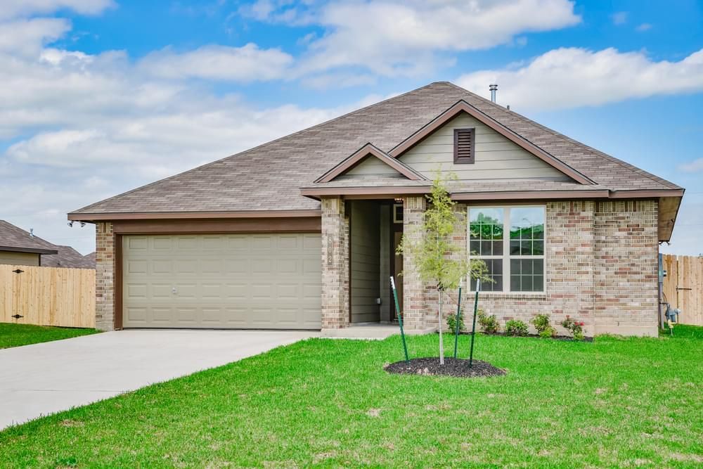 Exterior featured in the S-1514 By Stylecraft Builders in Waco, TX