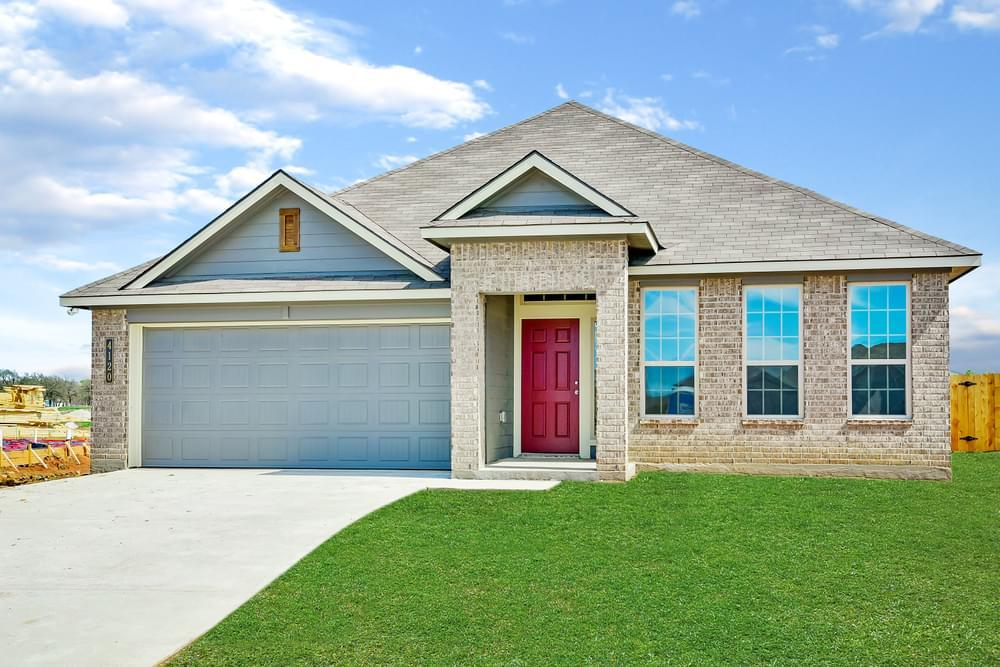 Exterior featured in the S-1818 By Stylecraft Builders in Killeen, TX